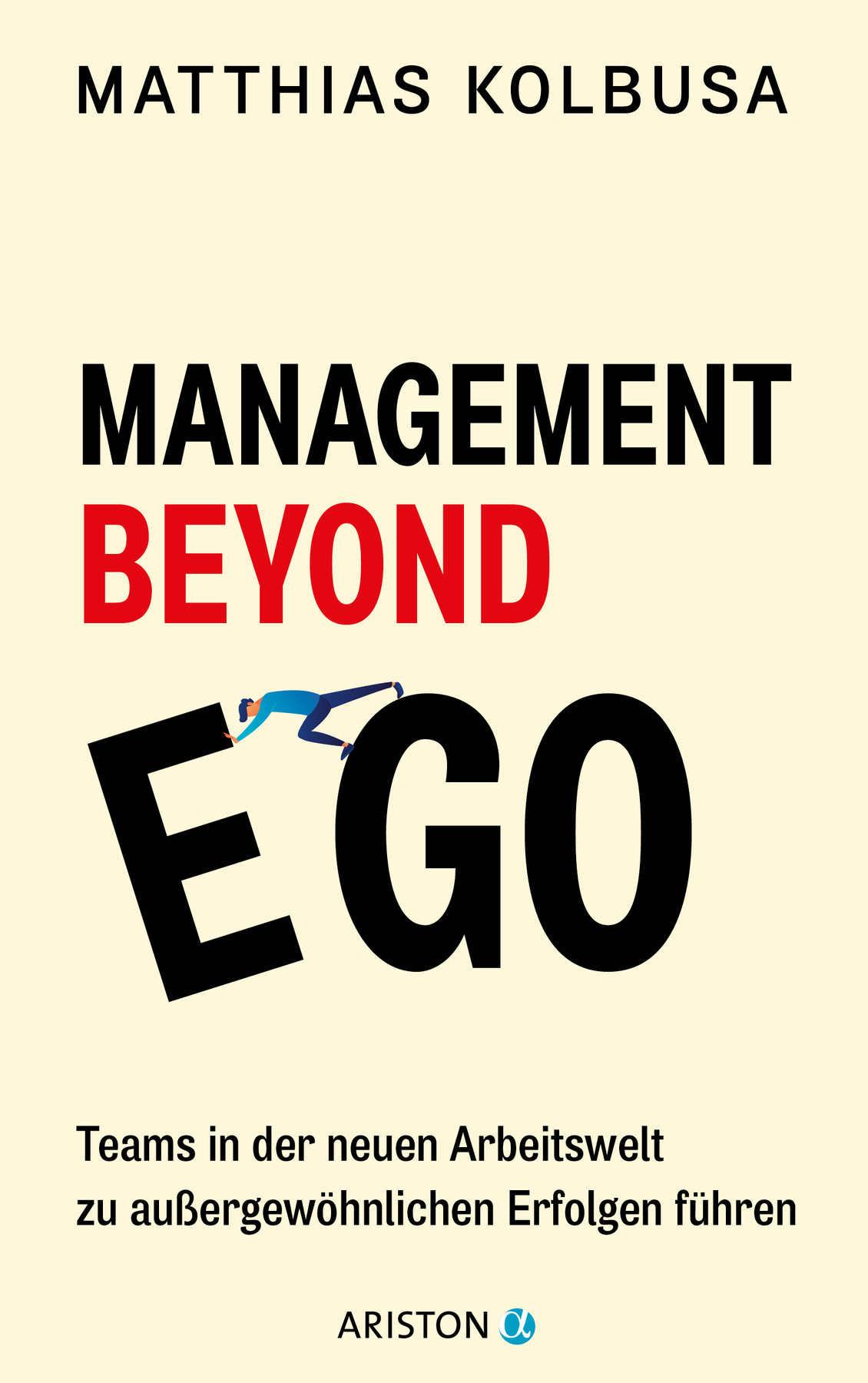 "Cover des Buches ""Management beyond Ego"""